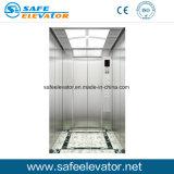 ブラシをかけられた鋼鉄エレベーター、乗客のエレベーター、住宅のエレベーター