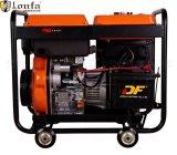 5.5kw aprono il tipo generatore diesel portatile con la vendita calda delle rotelle