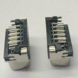 HD 이하 15의 Pin 여성 90 도 복각 검정 연결관