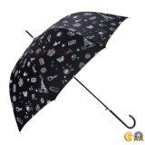 女性Usedのためのギフトの傘、自動車の開いた傘、日曜日または雨傘
