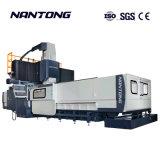 CNC точность обработки, гентри фрезерного станка с ЧПУ неподвижного света Gantry-Type, обрабатывающий центр