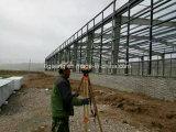 Godown конструкции стальной структуры полуфабрикат мастерской строя для Африки