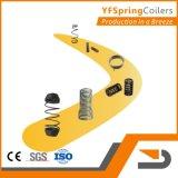 YFSpring Coilers C440 - четыре сервомеханизмы диаметр провода 1,60 - 4,00 мм - пружины с ЧПУ станок намотки