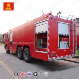 6X4 HOWO Sinotruk Fire Sprinkler Truck água/espuma Veículo de Combate a Incêndios