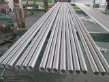 Tuyau en acier inoxydable sans soudure du tube de tuyaux soudés (soudée, 6mtr. moins de 6 mtr)