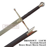 Braveheart 칼 중세 칼 훈장 칼 108cm HK81010cu