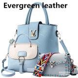 2017 de Nieuwe Zak Pu van de Hand van de Vrouw van de Inzameling Zakken Sy8432 van de Totalisators van de Handtassen van de Dames van de Dame Tote Bag Leather Hand Zak de Toevallige Dame Ladies Handbag Color Contrast Zakken
