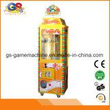 Machine à jetons de jeux de griffe de machine de jouet d'arcade de grue de peluche de griffe de sucrerie de lucette