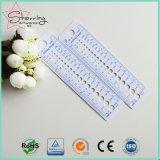 Assez de couleur blanche Aiguilles à tricoter en plastique règle comme outil de couture