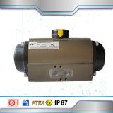 Одиночный действующий пневматический привод для модулирующей лампы