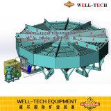 油圧放射状のジグのGandongの採鉱設備の製造業者からの円のジグ機械