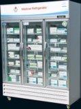 Refrigerador vacinal do uso do hospital do laboratório de Hepo/refrigerador médico/refrigerador da farmácia