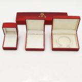 Coffret à bijoux en peluche blanc pour bague et bracelet (J55-E)