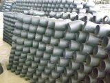 Различным сваренный локтем локоть стальной трубы углерода
