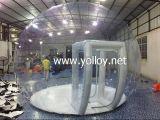 Globo inflable de la nieve para la exposición del partido