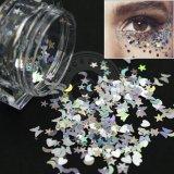 Escamas brillantes de acrílico de la decoración de la manicura del arte DIY Paillette del clavo de la galaxia