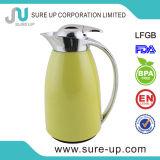 Brocca accettabile di vuoto del Thermos personalizzata colore con la fodera di vetro (JGEM)