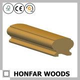 Personnalisé en rond avec la balustrade en bois solide d'écartement