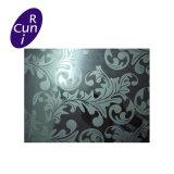 Acier inoxydable de repère coloré par ASTM du miroir 304 pour la décoration de porte