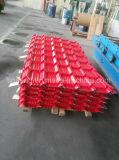 PPGI a ondulé la tôle d'acier/tuile Couleur-Enduite d'opération de toit pour l'Afrique