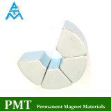 Магнит неодимия дуги N40sh R24*R22*1.5 с материалом NdFeB магнитным