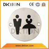 DS014 둥근 남녀 공통 씻기 룸 표시 표시 격판덮개