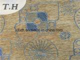Telar jacquar lavable del Chenille de la tela de tapicería para el conjunto del sofá o de la silla