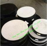 Almofadas Elastomeric reforçadas aço do rolamento