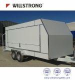 PVDF Beschichtung ACP-zusammengesetztes Aluminiummaterial für die Wand-Umhüllung unzerbrechlich