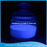 Incandescenza viola di colore dei pigmenti Photoluminescent viola nella polvere scura