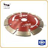 134мм сухой используйте режущий диск аппаратных средств Hot-Pressed Diamond красный пильного полотна