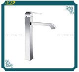 Type de levage robinet en laiton de bassin de salle de bains simple de traitement