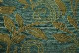 Panno verde del sofà da Chenille Material (FTH31410)