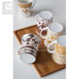 volle Abziehbild-Drucken-Kaffeetasse der Blumen-12oz