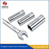 A alta precisão amplamente usar máquina de marcação a Laser de fibra de metais em PVC de ABS