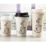 La bebida reutilizable de las tazas de café de la taza de té del fabricante de China ahueca las tazas de papel disponibles