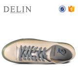 2018 la fábrica OEM Venta caliente hombres zapatos casuales de cuero auténtico
