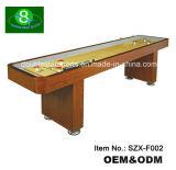 Campo de madeira maciça padrão MDF Tabela de shuffleboard Szx-F002