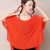 Nuevo diseño Bat-Like Camiseta Sudadera Chaqueta Rosa de aire acondicionado