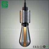 Soquete retro do pendente do suporte da lâmpada da ampola do Es E27 do parafuso de Edison