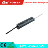 24V 0.8A 20W Waterproof a fonte de alimentação IP65 do diodo emissor de luz do interruptor IP67