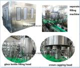 Frasco de vidro automática com tampa Crown Cola de engarrafamento de Bebidas Bebidas Carbonatadas máquina de enchimento
