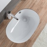 衛生製品の浴室T1010のための陶磁器の下の反対の洗面器