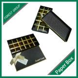 Contenitore di carta impaccante piegante di regalo del cioccolato del cartone di lusso