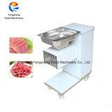 Электрический Slicer мяса Qw-2, автомат для резки свежего мяса, машина мяса рыб свинины отрезая, резец мяса
