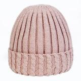 Различные цвета пользовательских зимой женщин акриловый трикотажные Beanie Red Hat
