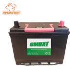 Батарея автомобиля Ns70 12V60ah 65D26L JIS Mf с сепаратором PE