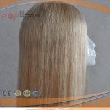 실크 최고 Toupee 유형 유태인 머리 상품 (PPG-l-0446)