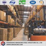 Sinoacmeは商品の記憶のためのStrucutureの軽い鋼鉄倉庫を組立て式に作った