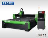 Machine de découpage en aluminium de laser de fibre de bille d'Ezletter de boîte de vitesses duelle de vis (GL2040)